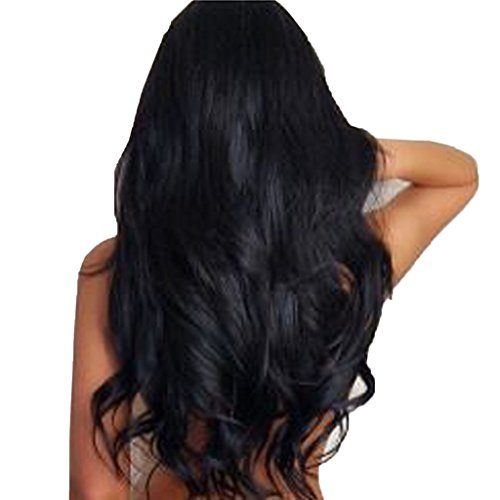 FOCUSSEXY Women 8pcs Wavy Curly Clip in Hair Extensions(24