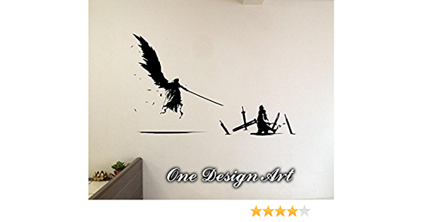 Details about  /Final Fantasy VII Custom Vinyl Lettering Stickers Wall Decals Name Art KA140