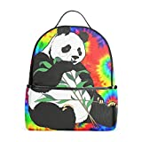 Trippy Panda Casual Backpack Bag, Fashion Lightweight Backpacks...