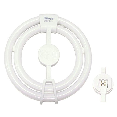 MAXLITE 25520 - SK255RLTWW CIRCULAR 55 WATT 55W T6 FLUORESCENT TUBE LIGHT BULB (55w Fluorescent)