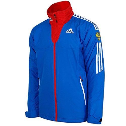 adidas Damen Cross-Country Goretex Rain Jacket Team Russia Olympia Russland