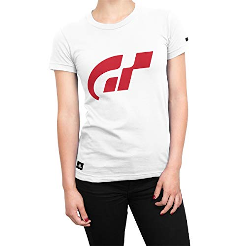 Camiseta Gran Turismo Feminina Isolated - Branco - Gg