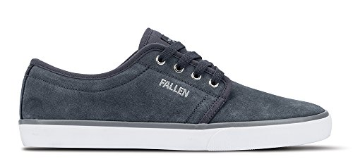 Fallen Men's Forte 2 Skateboard Shoe, Iron, 8 M US