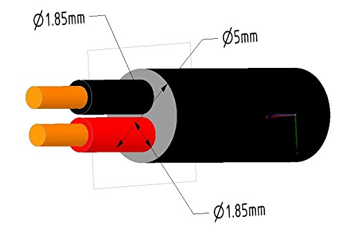 18 5 25 Low Volt Cable : Feet power cable led low voltage lighting ul