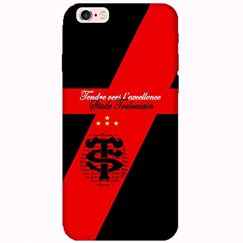 Coque Apple Iphone 6-6s - Rugby Toulousain supporter