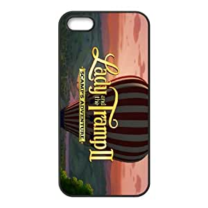 Lady and the Tramp II Scamp's Adventure iPhone 4 4s Cell Phone Case Black Zjkjx