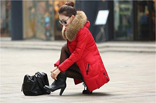 Manteau 2015 Taille Parkas Jackys Kaki hivers Mode Femme Automne L Femme T674wTxq