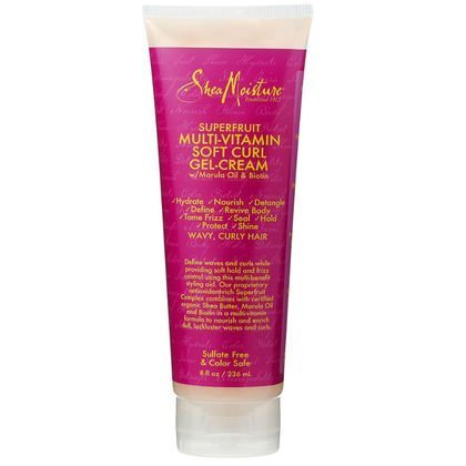 Shea Moisture Multi-Vitamin Soft Curl Hair Gel-Cream, 8 Fluid Ounce