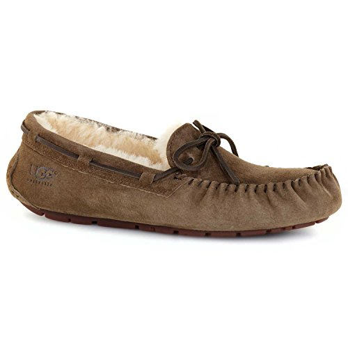 Moc Natural (UGG Australia Womens Dakota Slipper Dry Leaf Size 10)