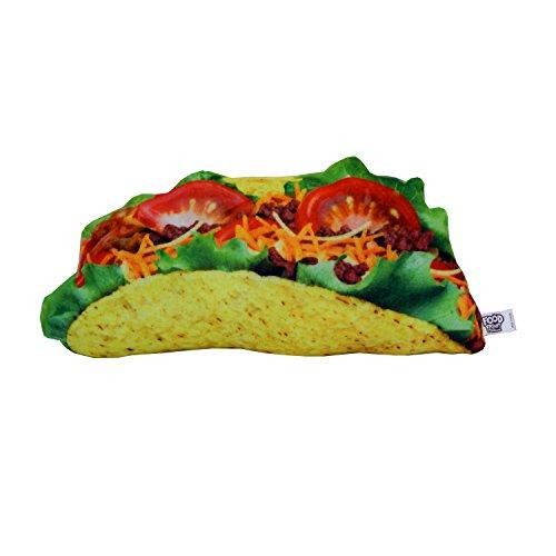 "Yummy Fun Full Print ""Beefy Taco"" Munchie Food Pillows - Salty Snacks"