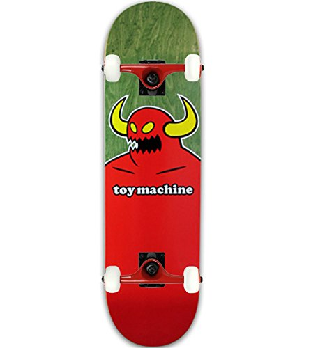"Toy Machine Skateboard Complete Monster (Assorted Color) 8.125"" Tensor Assembled"