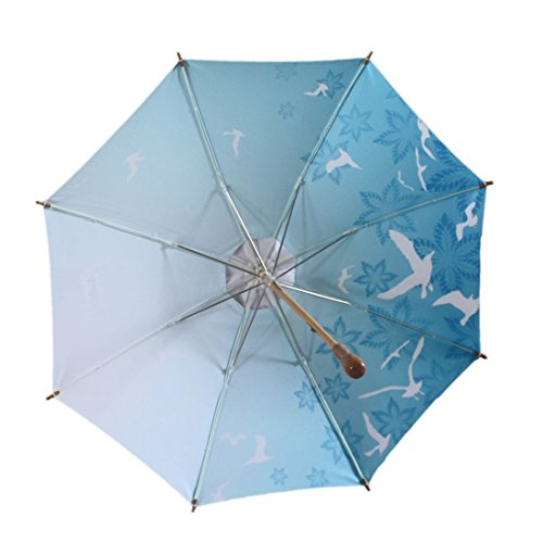 Sun Umbrella. #1 Elegant Parasol UV Umbrella UPF 50 : Blue - Blue Blocker Shades
