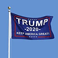 President Donald Trump 2020 Flag ANATYU 2 Pack-Keep America Great Flag Vivid Color and UV Fade Resistant 3x5 Feet with Grommets Double Stitched