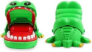 Children Kid Crocodile Mouth Dentist Bite Finger Game Toy