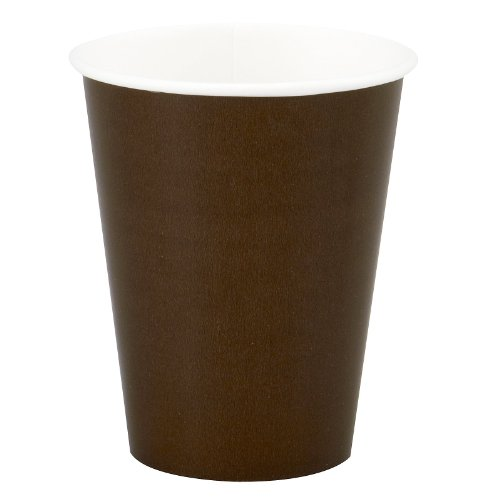Chocolate Brown oz Cups count
