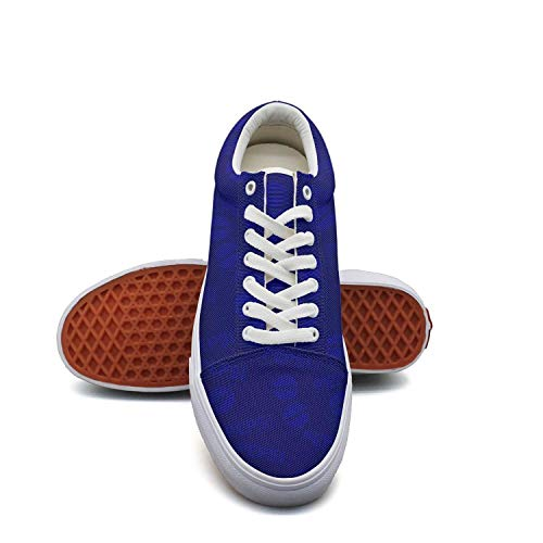 Girl Camouflage Canvas Shoes Straps Pepsi-cola-Products-Sale-Blue- Classic Sneakers Suitable for Walking (Back To The Old Skool Club Classics)