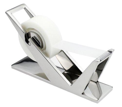 ArtsOnDesk Modern Art Tape Dispenser Mr102 Stainless Steel Mirror Polish Patented Luxury High-end Desk Accessory Office Organizer Cutter Thanksgiving Gift Christmas Gift by ArtsOnDesk (Image #7)