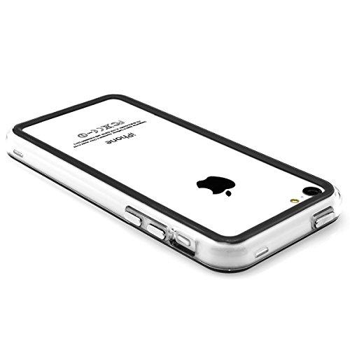 XAiOX® Apple iPhone 5C TPU Handytasche handyhülle Case Handy Hülle Bumper schwarz