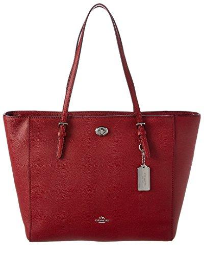 Coach Womens Turnlock Tote Bag