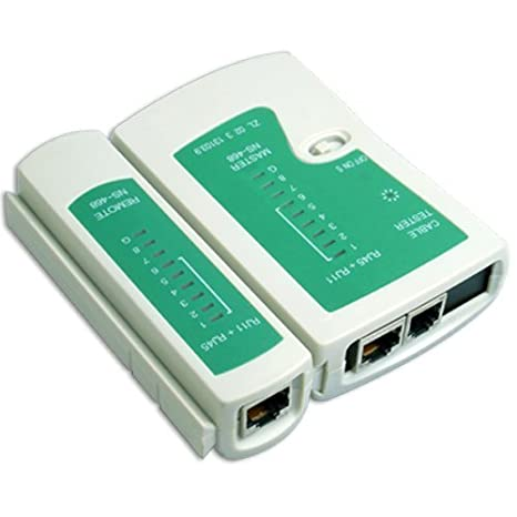 Schema Cablaggio Rete Lan : Led multifunzionale rj45 rj11 cavo tester network rete: amazon.it