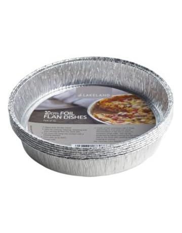 Molde de aluminio desechable para tarta de Lakeland, paquete de 10 unidades