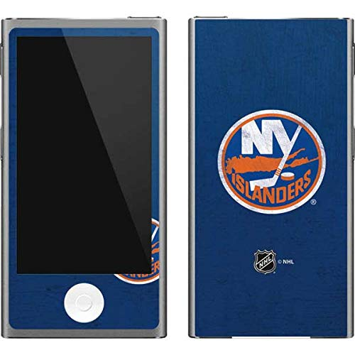 - Skinit NHL New York Islanders iPod Nano (7th Gen&2012) Skin - New York Islanders Distressed Design - Ultra Thin, Lightweight Vinyl Decal Protection
