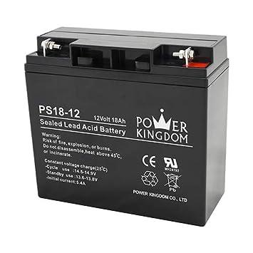 12v 18ah Battery >> Power Kingdom 12v Solar Battery Sla Battery 12v 18ah
