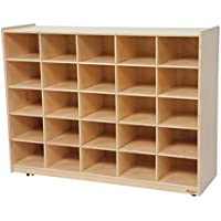 Wood Designs WD16009 (25) Tray Storage without Trays, 36 x 48 x 15 (H x W x D)