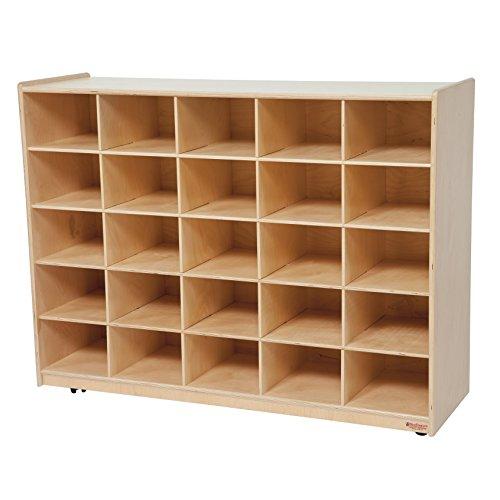 Wood Designs WD16009 (25) Tray Storage without Trays, 36 x 48 x 15