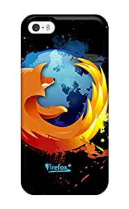 Lovers Gifts Tpu Shockproof Scratcheproof Mozilla Firefox Art Hard Case Cover For Iphone 5/5s 4181783K11285910