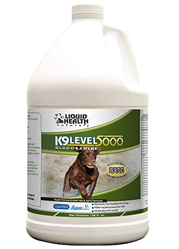 (Liquid Health For Animals-K-9 Level 5000 Glucosamine 128 oz Liquid)