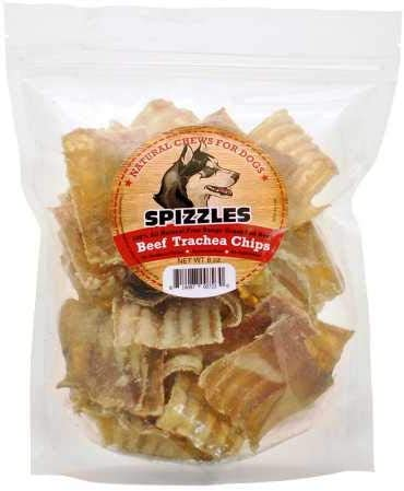 Spizzles Beef Trachea Chips 8 oz