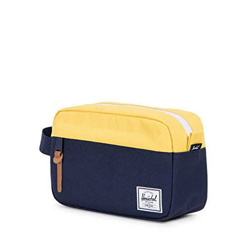 Herschel Supply Co. Chapter Carry on Travel Kit, Peacoat/Cyber Yellow by Herschel Supply Co. (Image #2)