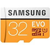 Samsung EVO MB-MP32GA 32GB U1 Class 10 MicroSDHC Memory Card with Adapter