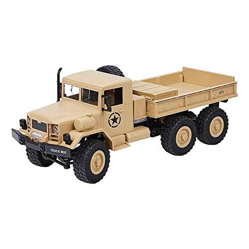 2.4Ghz 6WD Radio Control 1/12 Military Army Truck M35 6X6 Off Road RC Car Crawler Toys RC Models -