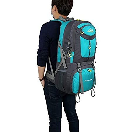 XJRHB Outdoor Backpack Mountaineering Bag Sports Backpack Men and Women Large Capacity Leisure Travel Travel Bag New Bag