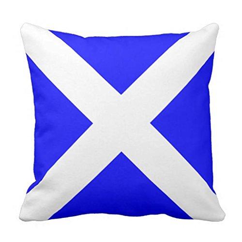 Nautical Flag Signal Letter M Throw pillow case 16*16 (Nautical Flag Pillows)