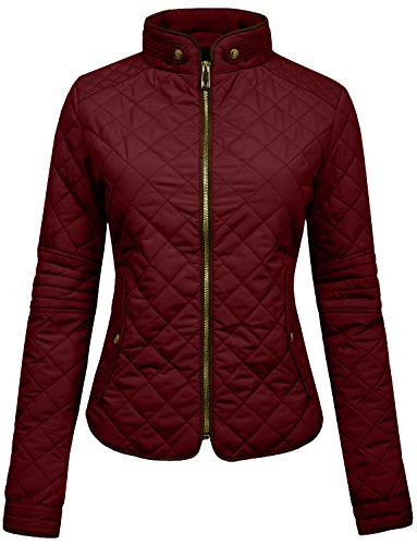 Quilted Car Coat - 1