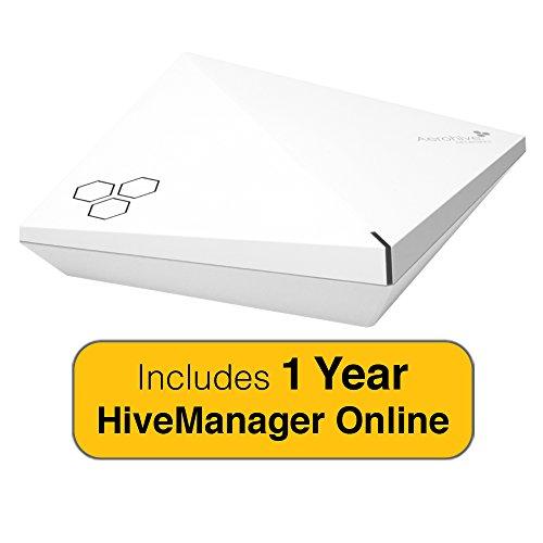 Aerohive HiveAP AP250, indoor rated, dual radio 3x3 802.11a/b/g/n/ac, 2 x 10/100/1000 & 1 Year HiveManager NG Subscription
