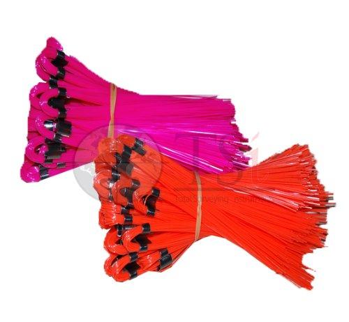 Presco 6'' Stake Chaser Whisker (Orange Glo) ()