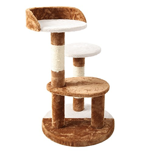 Chic cat furniture Stylish Finnkare Cat Tree Sisal Scratcher Play House Condo Furniture Chic Leveragemedia Finnkare Cat Tree Sisal Scratcher Play House Condo Furniture Chic