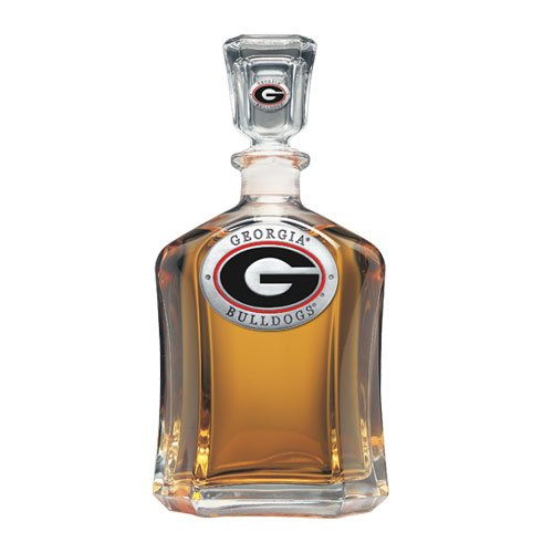 University of Georgia Decanter by Heritage Pewter