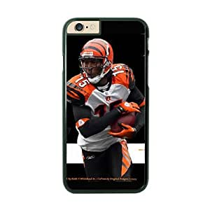 NFL iPhone 6 Plus Black Cell Phone Case Cincinnati Bengals QNXTWKHE1762 NFL Hard Phone Case Cover For Guys