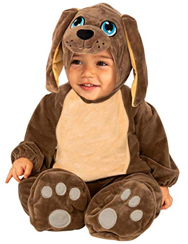 Rubie's Baby Puppy Costume Jumpsuit, As Shown, Toddler