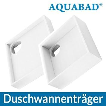 Favorit AQUABAD® Universal Duschwannenträger Styroporträger Wannenträger NW92
