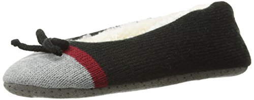 Life is good Women's Cozy Ballet Slippers (Night Black), Small from Life is Good