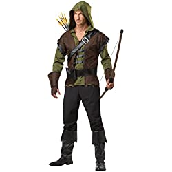 California Costumes Men's Robin Hood Adult, Olive/Brown, Small