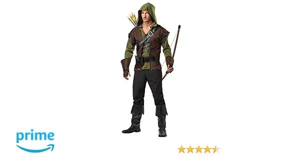 California Costumes - Disfraz de Robin Hood para hombre talla pequeña