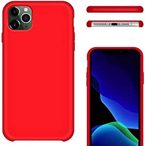 Red Apple IPhone 11 pro Max Case Cover Fabric is resistant to dirt