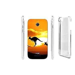 FUNDA CARCASA JUMPING ANIMAL PARA HTC DESIRE 510
